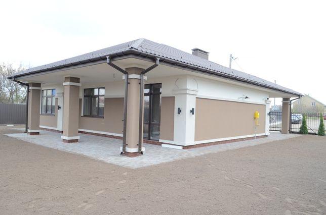 Дом 115.8м2в Борисполе под чистовую отделку. Свет.Газ. Автонавес