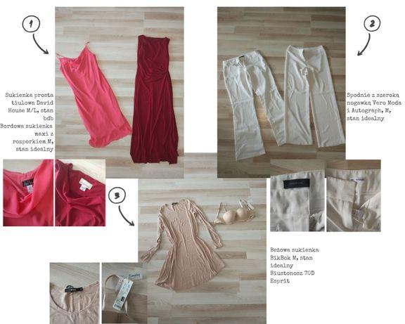 Mega paka zestaw ubrań H&M, Atmosphere, Diverse i inne rozmiar M