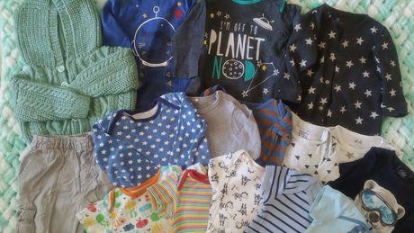 Пакет вещей на мальчика 6-9мес