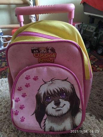Продається рюкзак на колесах для дитини 2-3 років