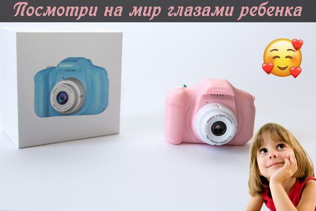 ТОП ПОДАРОК! Детский фотоаппарат камера Sonmax фотокамера для девочки