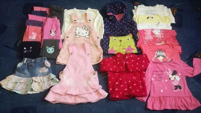 Paka ubrań dla dziewczynki w rozmiarze 92-98