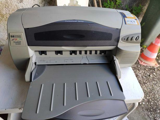 HP Designjet 1220C A3 e A4 sem tinteiros