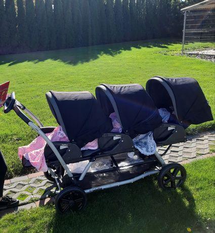 Peg perego triplette wózek dla trojaczków