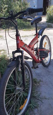 """Горный велосипед для дитей до 70кг.Торнадо 24"""""""