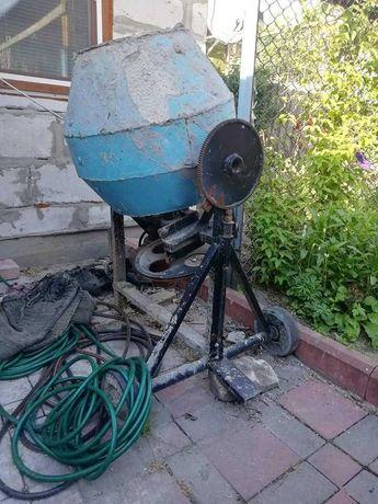 бетонномешалка електрическая