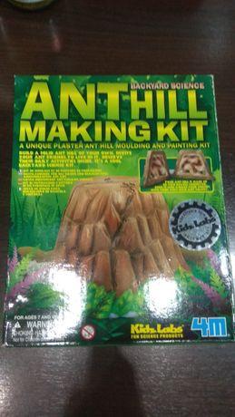 Zestaw do zrobienia mrowiska z gipsu