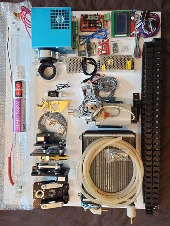 Набор для сборки ЧПУ лазерного станка, трубка 40Вт