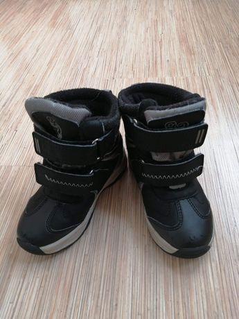 Buty chłopiece zimowe kozaki roz. 25