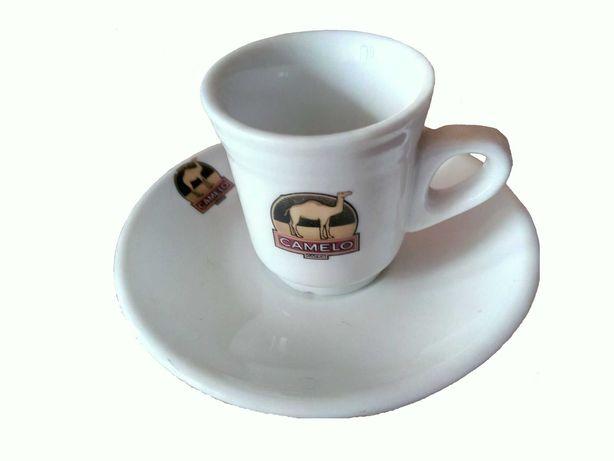 Chávena de café - Camelo - Logo verde e dourado - Portugal