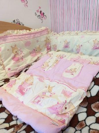 Мягкие бортики в кроватку, защита в детскую кроватку