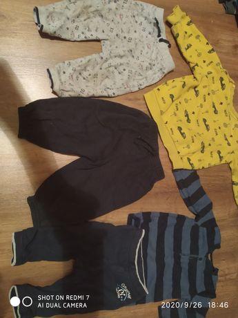 Набор костюмы штаны кофты 9-12