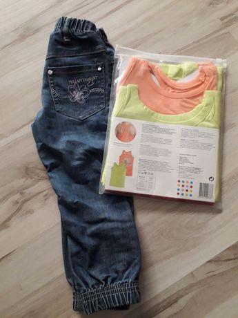 Spodnie i bluzki 110