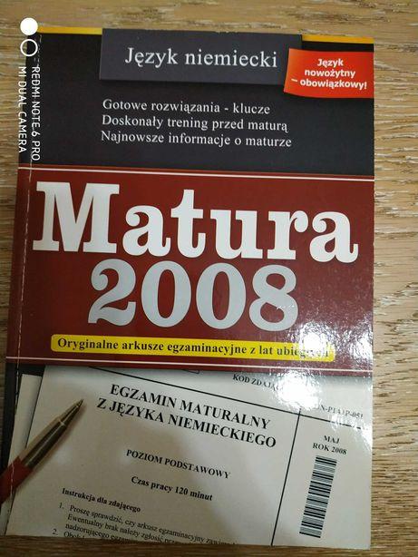 Język niemiecki Matura 2008