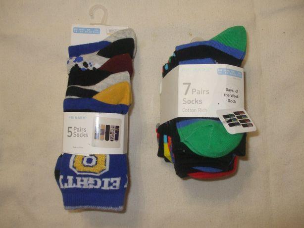 набор носков носочков на 3 - 6 лет НОВЫЕ для мальчика