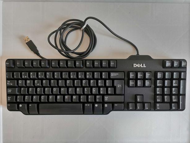 Teclado Dell Rt7d50 com apoios atrás - Ligação USB