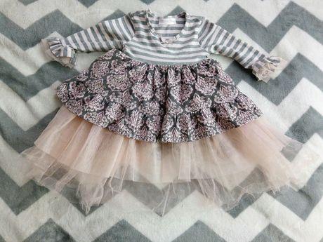 Платье нарядное Сукня Плаття святкове з рукавами Платье с фатином