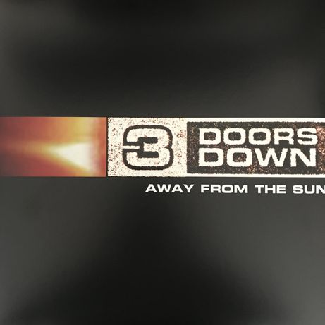 3 DOORS DOWN - Away From The Sun - 2 LP- winyl , nowa , zafoliowana