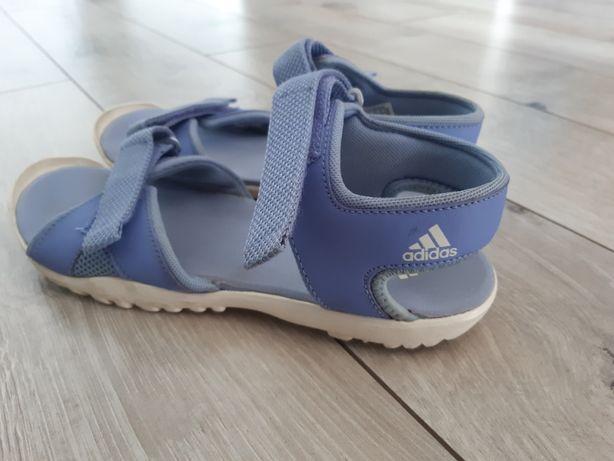 Adidas sandały dla dziewczynki roz. 38