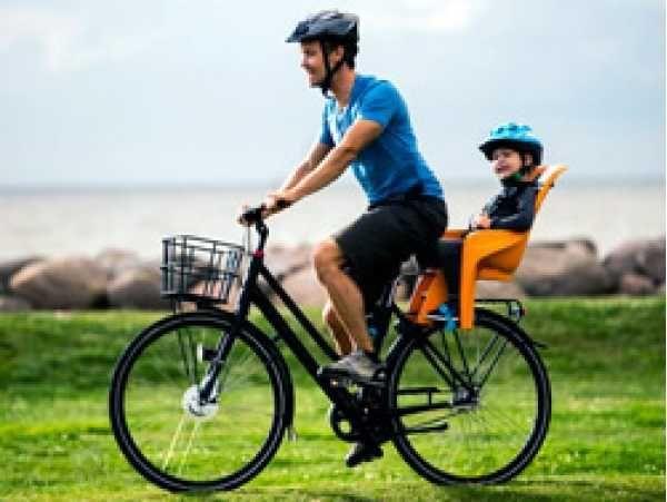 Продам кресло на велосипед детское