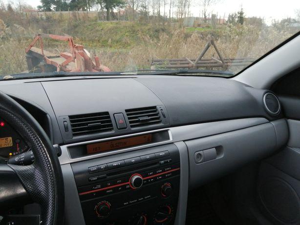 Kokpit deska rozdzielcza Mazda 3