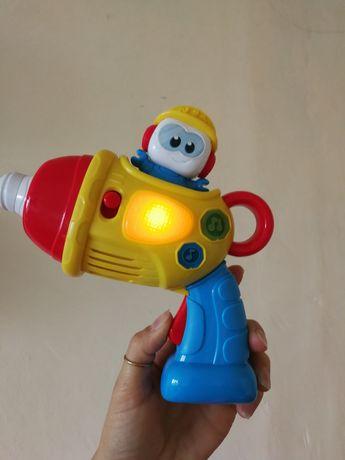 іграшкова дрель / музична іграшка