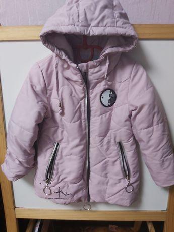 Куртка на девочку 4 года