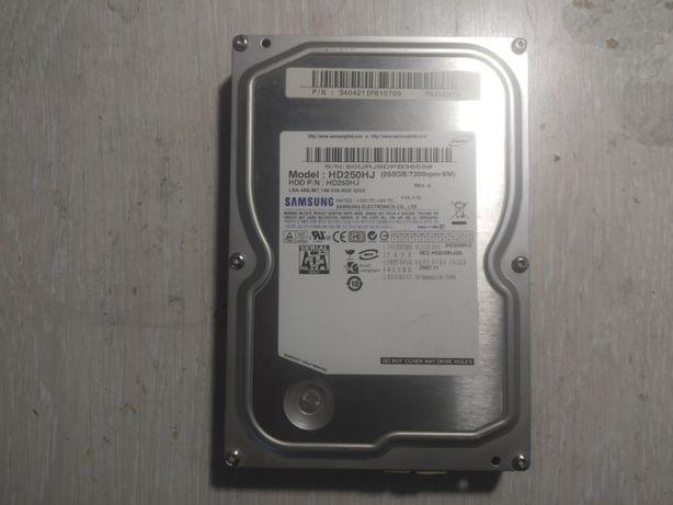 Жесткий диск Samsung 3.5 250 гб SATA б.у 1000 рублей