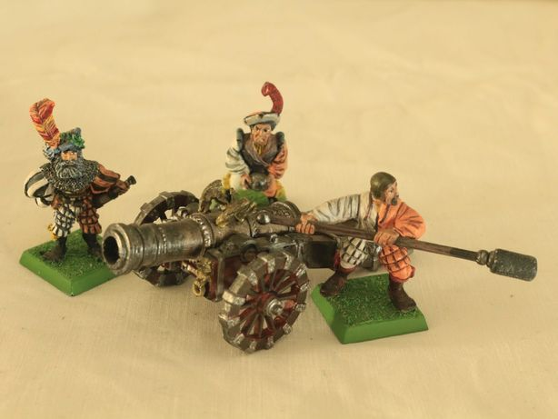 Warhammer Fantasy, Empire, 2 Great Cannon, bohaterowie - queen, zug