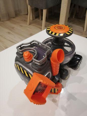 Zabawka samochód pojazd śmieciarka z dźwiękami bio busters yuckie