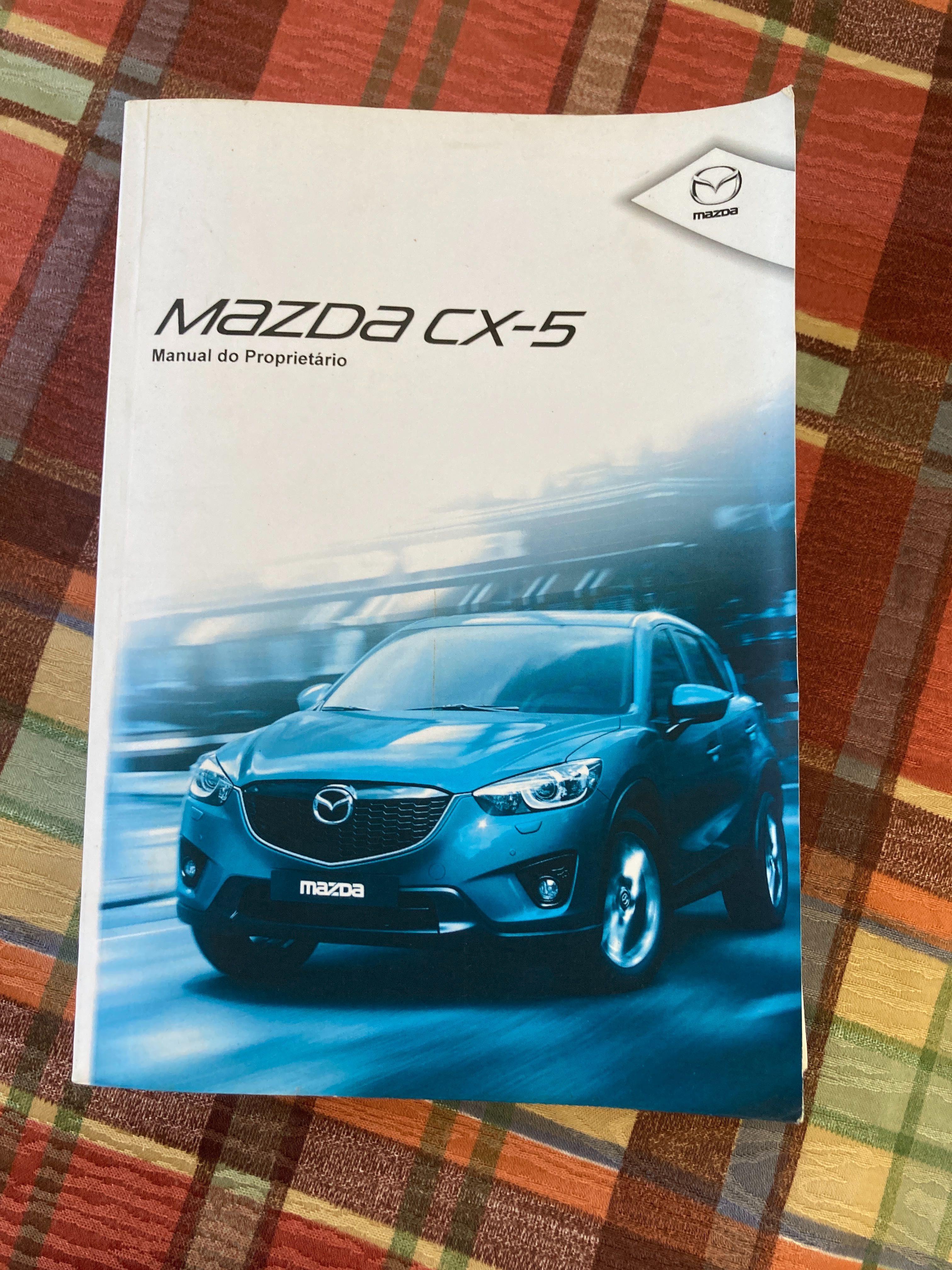 Manual proprietário  utilizador Mazda Cx 5