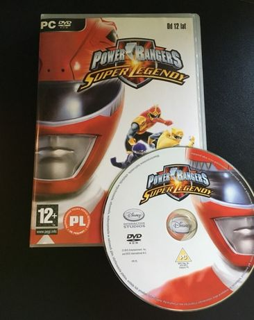 Power Rangers Super Legendy PL gra PC + plakat