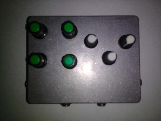 Гитарная педаль 2в1 (overdrive Maxon OD 808 +cabsim)