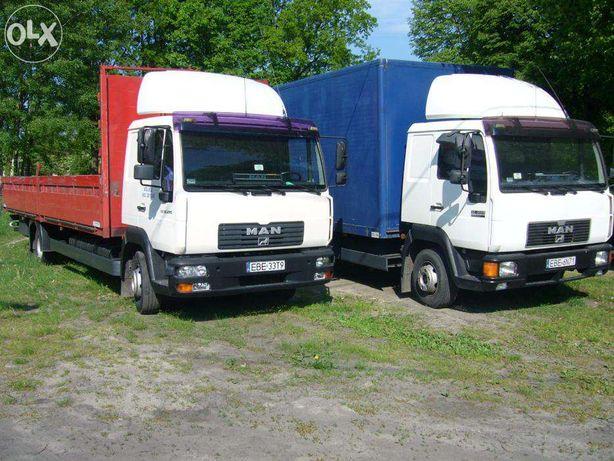 Usługi TRANSPORTOWE transport cięzarowy