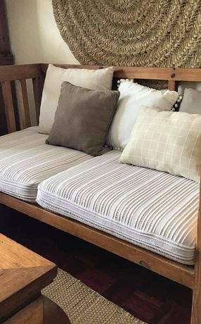 sofa, cadeirao,  canape, mexicano, rustico