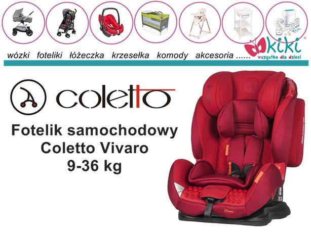Fotelik samochodowy dla dziecka Coletto Vivaro 9-36 kg