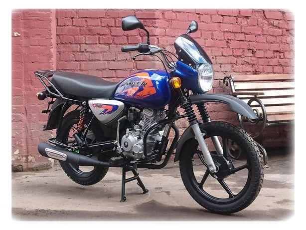 Мотоцикл BAJAJ BOXER X 125 CROSS Изготовлен Индия
