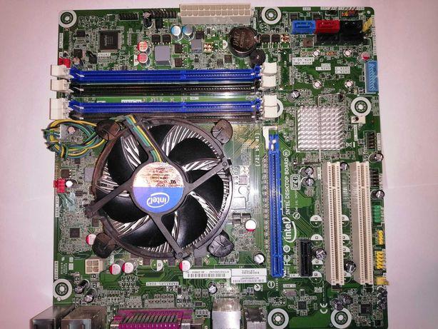 материнская плата intel socket 1155 +процессор cpu i5-2500 4 ядра