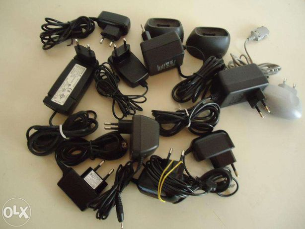 Carregadores para telemóveis antigos