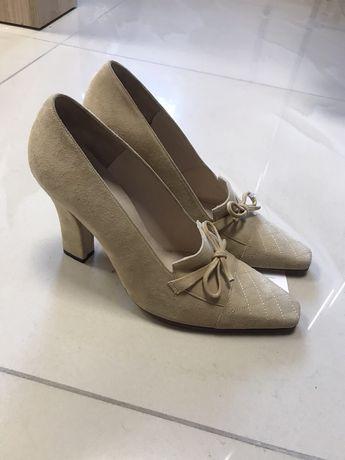 Винтажные туфли с квадратным носком chanel оригинал бежевые туфли 2021