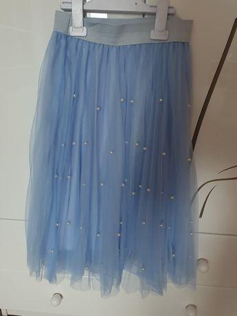 Spódnica tiulowa z perełkami roz M
