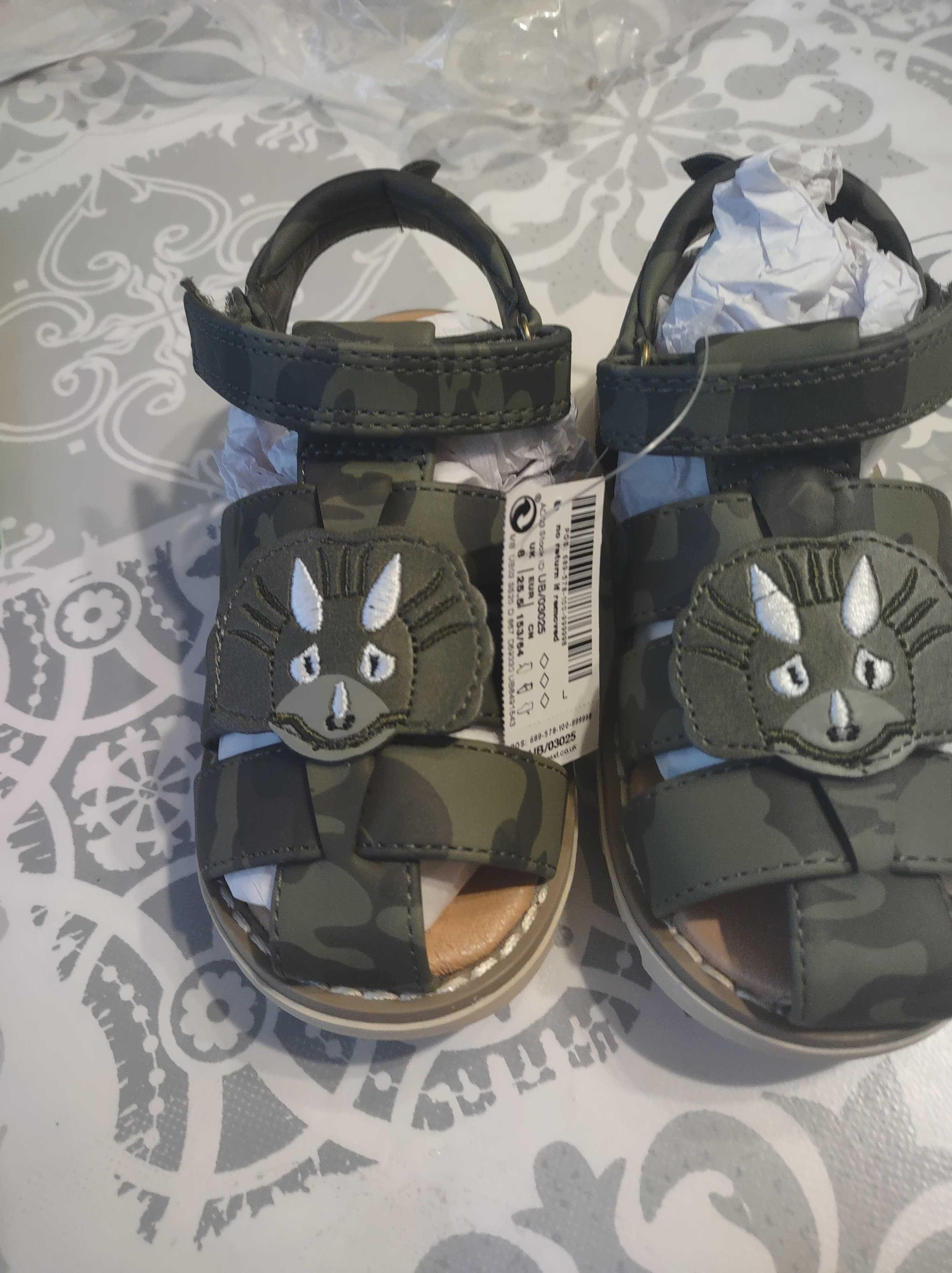 Next sandałki dla chłopca nowe rozmiar 25,5