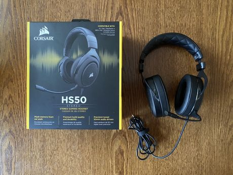 Słuchawki gamingowe Corsair HS50 + 1 rok gwarancji