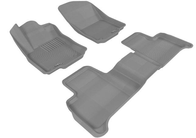Объемные 3D ворсовые коврики для Skoda Octavia
