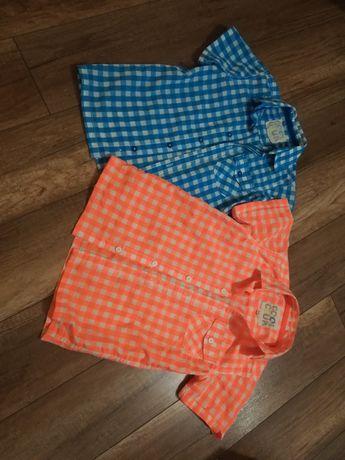 Koszula coolclub r.128 dla bliźniaków 2 szt
