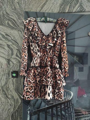 Sukienka Lou pantera projekt A.Wisniewska