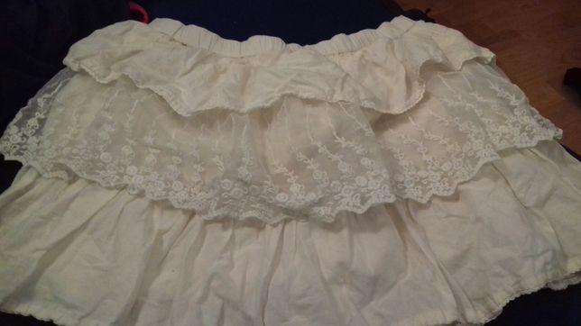 Spodniczka H&m r 134 piękna
