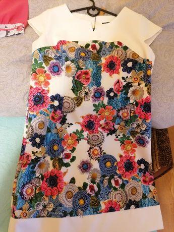 Sukienka piękne wzory