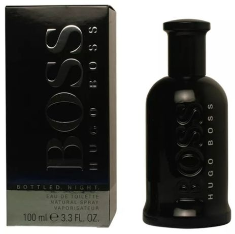 Perfume Hugo Boss 100 ML Bottled Night Original Selado Novo na Caixa