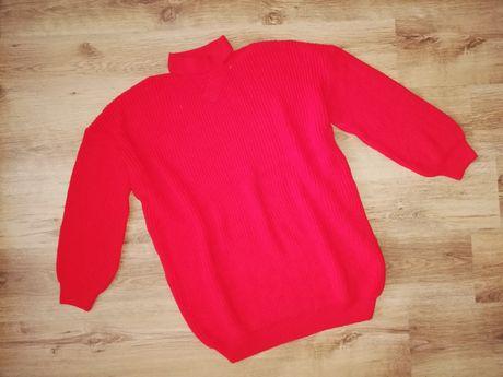 /48/ Długi sweter z chokerem